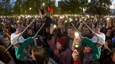 Отзвуки гопака в Екатеринбуржских протестах